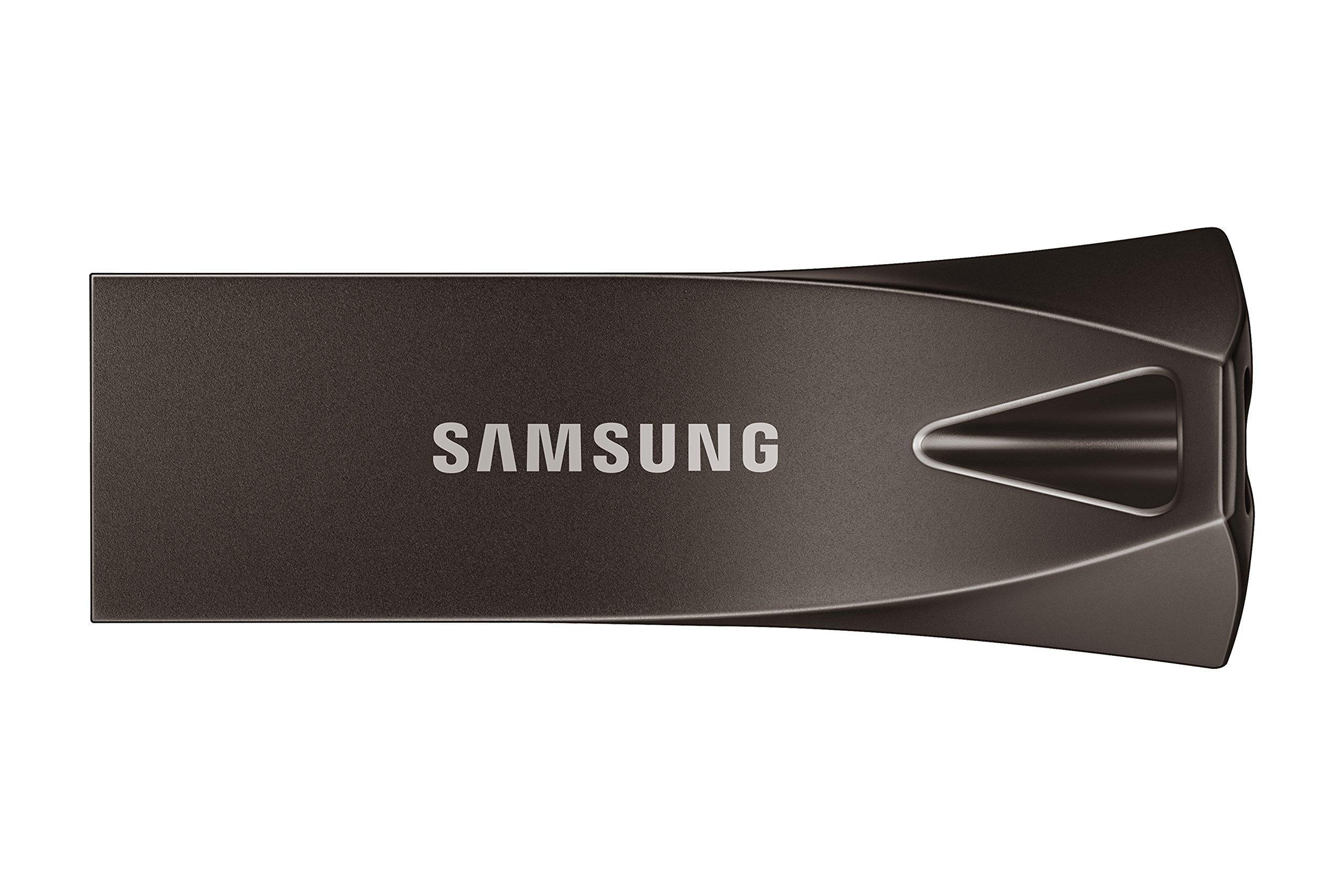 Samsung BAR Plus 32GB - 200MB/s USB 3.1 Flash Drive Titan Gr